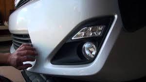 2014 Camry Led Lights 2012 2014 Toyota Camry Led Daytime Running Lights W Halogen Fog Lights The Combo Kit Highlights