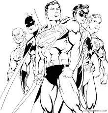 Signup to get the inside scoop from our monthly newsletters. Justice League Superman Coloring Pages Coloring4free Coloring4free Com