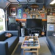 Plain Man Cave Garage Home Within The Should Be Without These Bigboy In Inspiration