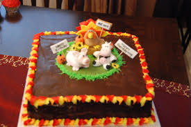 images of thanksgiving birthday cakes