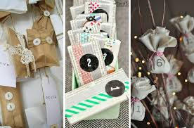 easy calendars easy homemade advent calendars mums make lists