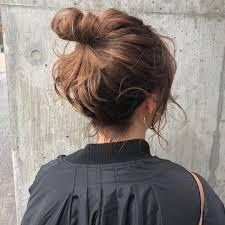 短いヘアだってまとめ髪がしたいのボブミディアムさんの簡単