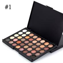 40 color eyeshadow pearl shimmer studio pact earth warm luminous sets makeup