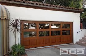 wood gl eclectic garage door in los angeles ca a garage conversion idea