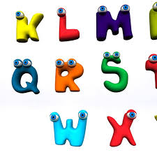 anim alphabets a z 3d model available in max ma mb