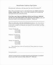 Parent Teacher Conference Form Template Parent Teacher Conference Template Best Of Parent Teacher