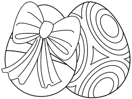 Small Picture Free Printable Easter Egg Coloring Pages for the Kids
