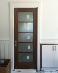 bathroom pocket doors. Pool-house-main-room-bathroom-pocket-door-install Bathroom Pocket Doors