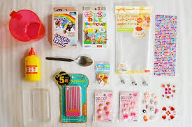 diy kawaii decoden phone case competition