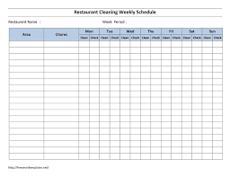 Bathroom Cleaning Schedule Interesting Decoration