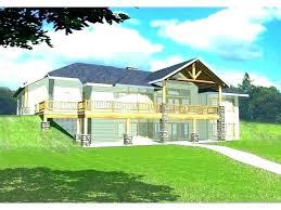 lake house plans walkout basement lake house plans walkout basement small with ranch cabin
