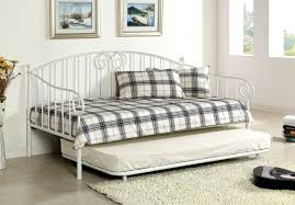 inspiring space saving bedroom decoration with various metal daybed frame fascinating small space saving bedroom