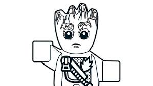 lego avengers coloring pages. Contemporary Lego Groot In Lego Avengers Coloring Pages U