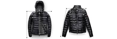 canada goose canada goose sizing chart