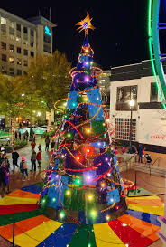 Silver Spring Christmas Tree Lighting Holiday Trees For Downtown Silver Spring By Karl Unnasch