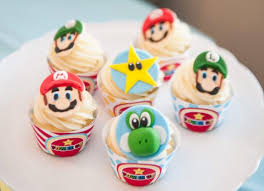 Everyone will love their favorite video game character having his face pulle. Kara S Party Ideas Diy Super Mario Bros Birthday Party Kara S Party Ideas