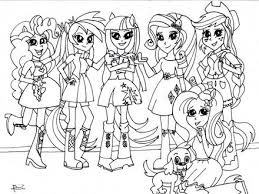 Pinterest The Worlds Catalog Of Ideas Coloring Pages Of My Little