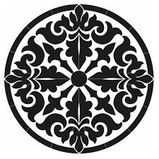 7 best medallions images on pinterest tile design, swimming Home Depot Deck Plans baroque medallion black home depot deck plans free