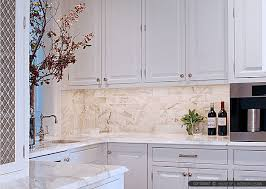 Delighful Kitchen Backsplash Subway Tile Calacatta Gold With Models Ideas