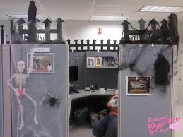 decorating office for halloween. Exellent For Enchanted Forest Halloween Cubicle Decorations Mario Intended For Office  Decorating Themes Decor 15 With