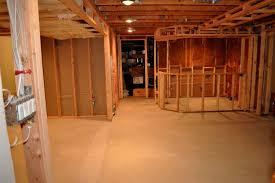 Image of: building a basement 2