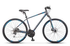 Горный (MTB) <b>велосипед STELS Cross 150</b> D Gent 28 V010 (2019 ...