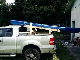 diy truck bed rack kayak stuff to make for and canoe carrier homemade pvc bike diy truck bed rack