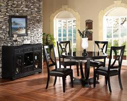 this sleek and modern dining table is part of our mollai collection furniture 5 pc dining room set includes table 4 side chairs 170