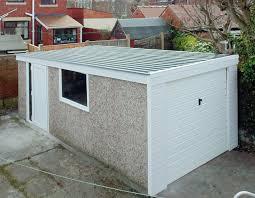 sectional garage door with built in entry door