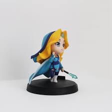 1pcs q crystal maiden dota 2 figure heros cm fv pvc action figures