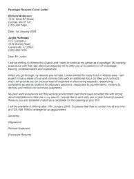 Example Of A Cover Letter For Job Application Example Of Paralegal