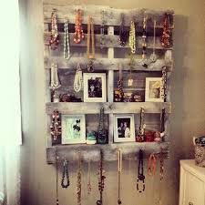 pallet ideas for walls. i\u0027d need a full wall of pallets to hang all the necklaces i have pallet ideas for walls b