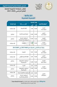 جدول امتحانات الثانوية العامة 2021 للشعبة العلمية – سعودي فايف