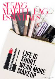spring makeup bag essentials vanityrouge 2