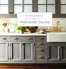 brass dresser knobs how to clean hardware makeover furniture kitchen