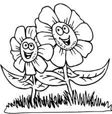 Cartoon Flower Coloring Pages Nauhoituscom All About 10k Top