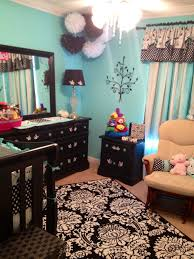 Tiffany Blue Living Room Decor Girls Nursery In Tiffany Blue Black Nursery Ideas Pinterest