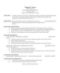 Automotive Engineer Resumes Mechanical Engineer Resume Mechanical Engineer Experienced