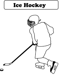 Small Picture Ice Hockey Coloring Pages Sport Coloring pages of