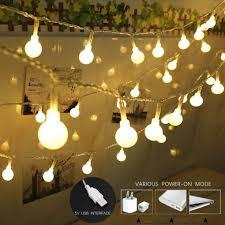 Usb Powered Outdoor Lights Amazon Com Yezijin Outdoor Light String Usb Powered With