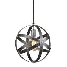 Silver Pendant Light Fixtures Industrial Pendant Lighting Globe Pendant Light Antique Silver