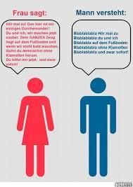 Was Frauen Sagen Und Männer Verstehen Lustige Bilder Sprüche