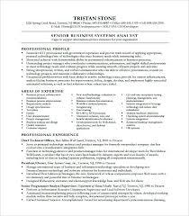 Quality Analyst Cv System Analyst Resume Example Alluring System Analyst Resume Sample