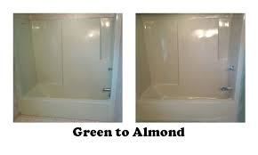 can fiberglass bathtubs be refinished photo