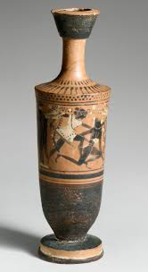 theseus hero of athens essay heilbrunn timeline of art   terracotta lekythos oil flask