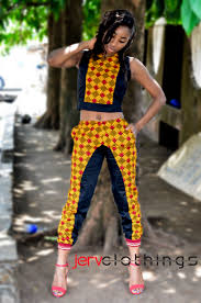 African Trousers Designs African Wear For Ladies Top And Trousers Rldm