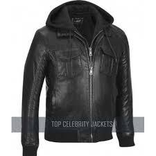 black rivet faux leather er jacket