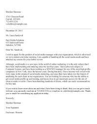 social media manager cover letter  tomorrowworld co social media manager