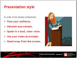 presentations one main idea per slide idea good