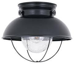 8869 12 sea gull lighting sebring beach style outdoor flush mount